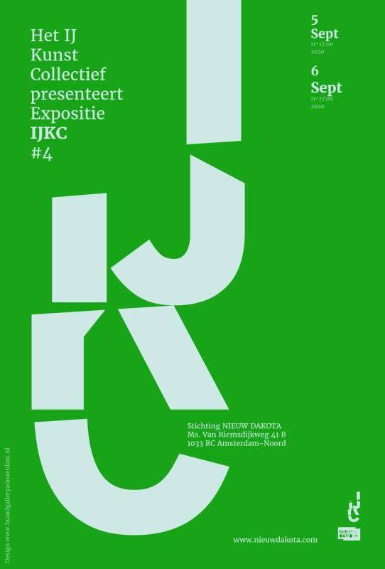 flyer IJ Kunst Collectief