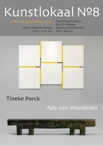 """Affiche """"flyer Kunstlokaal 8"""""""